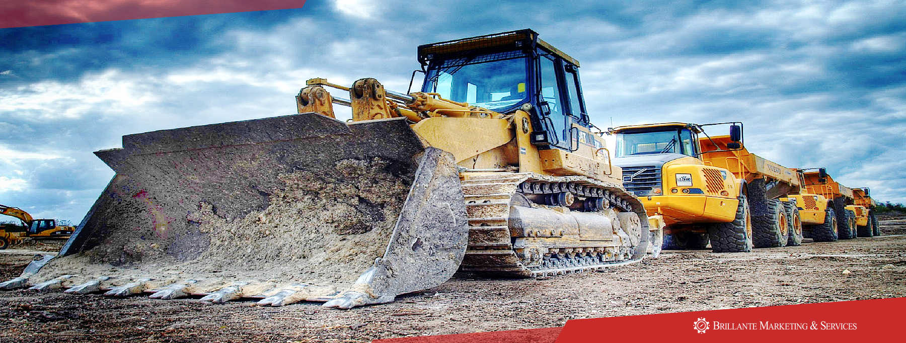 We carry good inventory stock for Caterpillar, Mitsubishi, and Komatsu